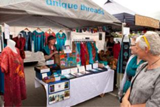 market stall Nelson